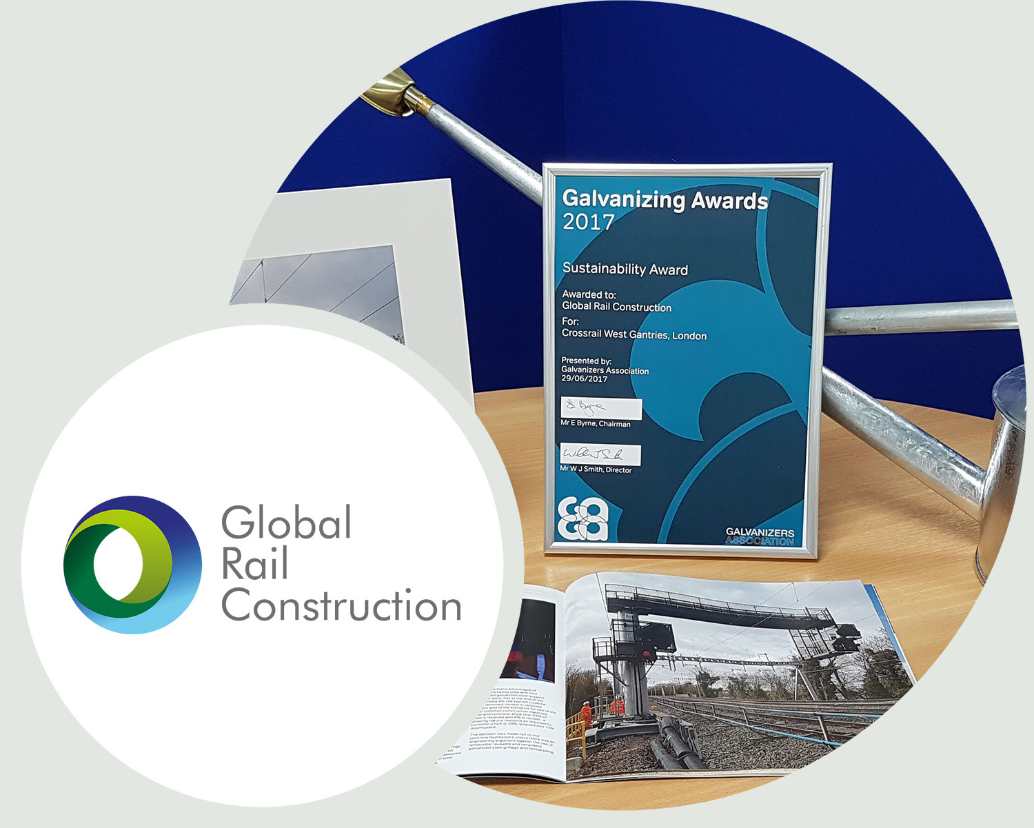 Global Rail Construction wins GAGA award