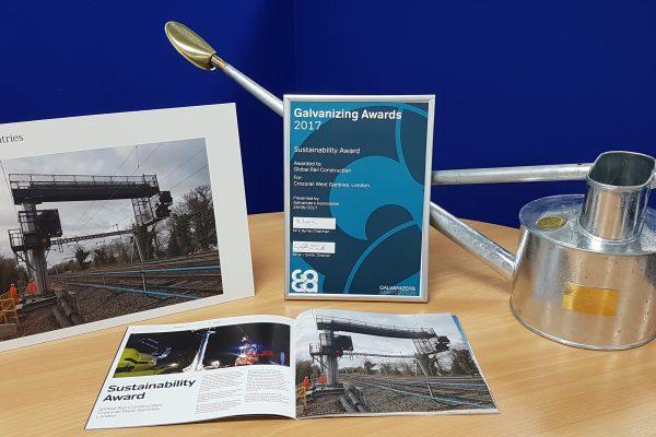 Global Rail Construction wins GAGA award