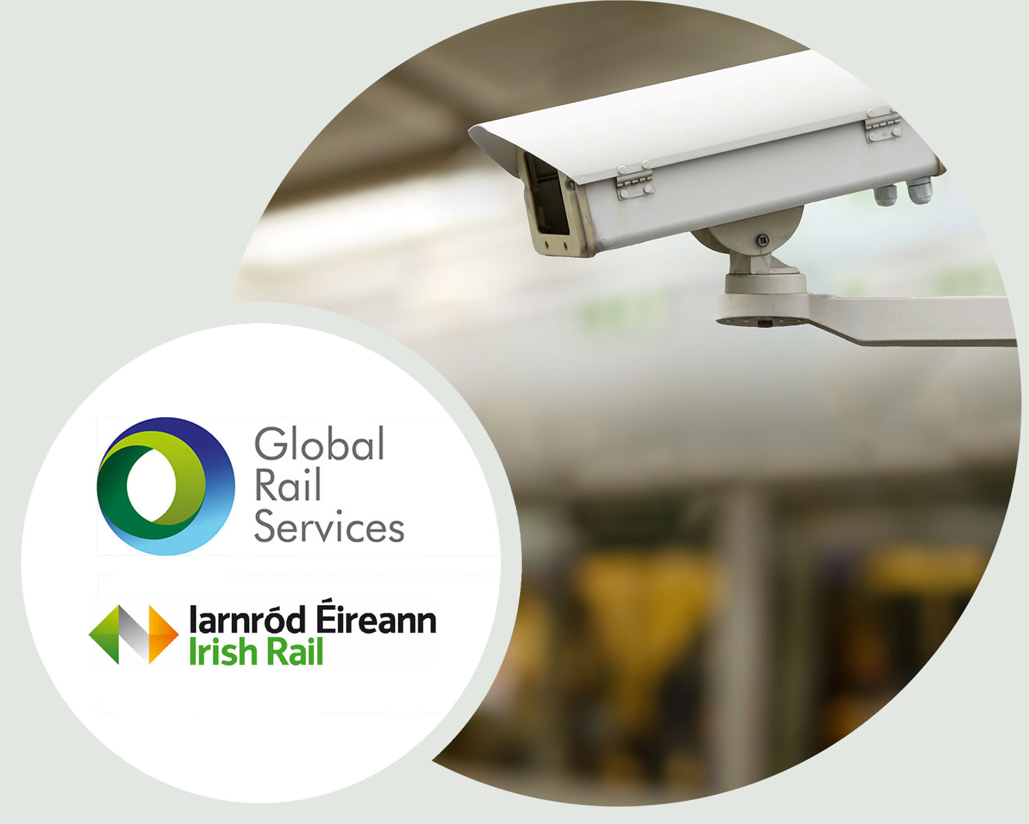 CCTV Contract Success For Global Rail Services in Ireland